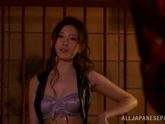 Asami Ogawa horny Asian milf enjoys it nice and hard