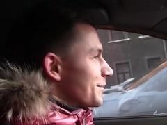 Teen amateur girls sex in the car scene 2