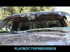 off ex-GF is punished for smashing her boyfrend's car