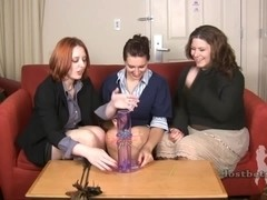 Wednesday Kimberly and London play Strip Thud