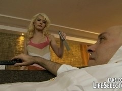 Angry GF takes revenge on Hubby!
