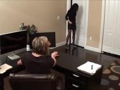 Office foot fetish lesbian