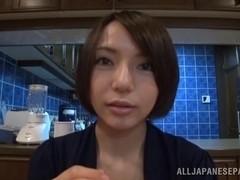 Ayumi Takanashi hot Asian milf in sexy lingerie fucks