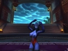 Night elf & Draenei dance