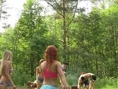 Dominika & Eva Berder & Jenny & Penny & Rita-Moor & Sabrina in hot college sex video made in the o.