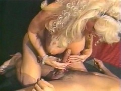 Barbara Alton, Christy Canyon, Carmel Nougat in vintage fuck movie