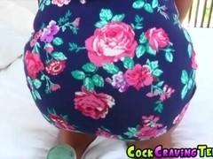 Sweet babe Eva Lovia loves to fuck big