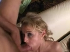 Italian MILF with huge boobs in a nasty gangbang