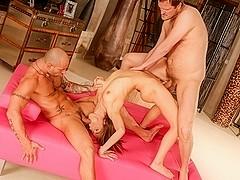 Tina Hot, Mike Angelo, Yanick Shaft in Rocco's Psycho Girls #08, Scene #02