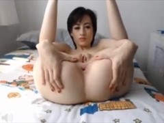 British Girl Fisting and Gaping Pussy