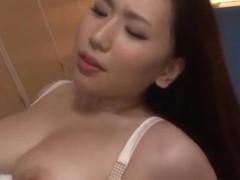 Alluring and hot Asian milf Sayuki Kanno gives expert blowjob