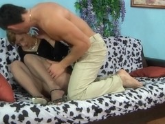 PantyhoseLine Clip: Sophy and David