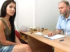 Rhianna gyno exam
