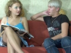 StraponScreen Video: Alina and Elliot