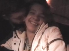 Girl willingly fucks man in taxi on the hidden cam