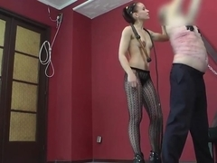 fit junior cruel mistress pantyhose brutal whipping