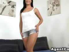 German amateur castings in shorts