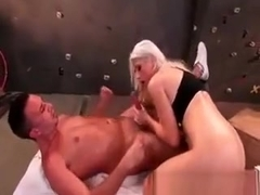 Slutty Blond With Huge Boobs Nikki