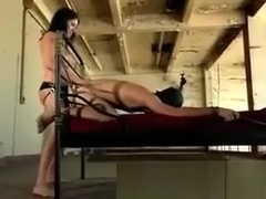 Sativa Rose pegging her useless admirer