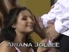 Ariana bukkake party