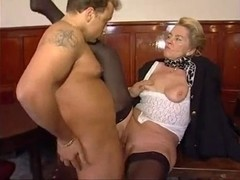 70 Yr. Old Lady Have A Fun Youthful Strapon