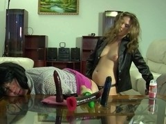 StraponSissies Scene: Alana and Monty B