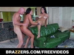 Ariella Ferrera and Shay Sights take turns riding a large-dick