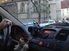Lustful Czech Angel Carries Boots When Autosex