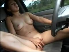 Masturbation while driving 1