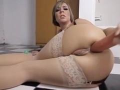 Milf huge toys anal gaping slut