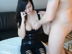 Fucked in my pussy by a hard pecker