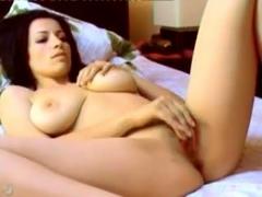 She enjoys making sexy web cam video