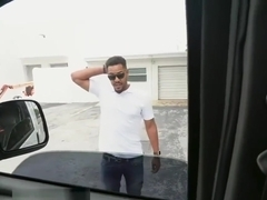 Rose Monroe Twerks on The Car
