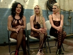 Fabulous fetish porn video with amazing pornstars Vanessa Cage, Katie St. Ives and Chris Johnson from Footworship