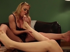 Horny fetish, milf xxx movie with crazy pornstar Emma Haize from Footworship