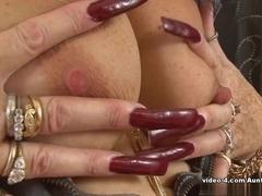 Horny pornstar in Best Stockings, Mature porn scene