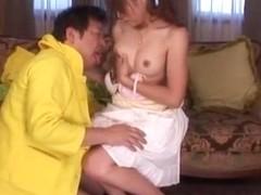 Exotic Japanese girl Karen Kisaragi in Fabulous Dildos/Toys, Facial JAV scene