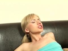 Amazing pornstar Sasha Rose in fabulous creampie, blonde xxx scene