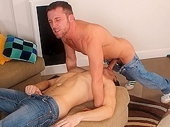 Trevor Knight & Troy Collins in No Longer A Virgin Video