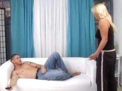Incredible pornstar in crazy cumshots, blonde adult movie