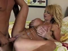 Cute pornstar sucks Scott's Nails huge cock to become popular