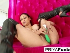 Priya Rai in Priya Rai Does Some Fun Wardrobe Play And Self Fucking - PriyaRai