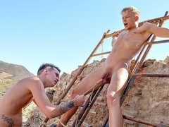 Hung Twink Has A Toy To Play With - Chris Jansen  Charley Cole - Boynapped