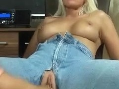 Great German fisting in jeans
