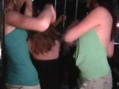 Party Girls Flashing And Upskirt