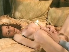 Sexually Excited brunette hair gal receives her cookie fingered, licked and drilled