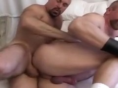 Mature daddies barebacking