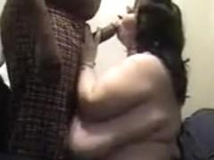 breanda sucking cock on her knees