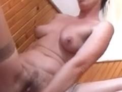 Sexually Excited Mamma Masturbates Herself