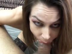 Newbie mother I'd like to fuck Nora Noir Gives 1St Porn Deepthroat